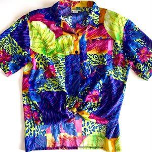 Vintage SeaSuns Vibrant Hawaiian Shirt